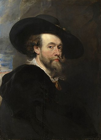 1623 in art - Image: Rubens self portrait