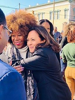 Ruby Bridges and Kamala Harris