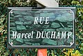 Rue Marcel Duchamp (Belley), panneau.jpg