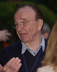 "News Corp owner Rupert Murdoch voiced himself in ""Sunday, Cruddy Sunday""."