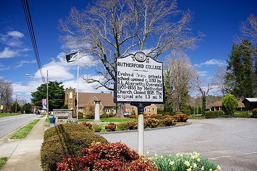 Rutherford College chiropractor