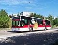 Ruzyně, Drnovská, autobus 218 OC Šestka.jpg