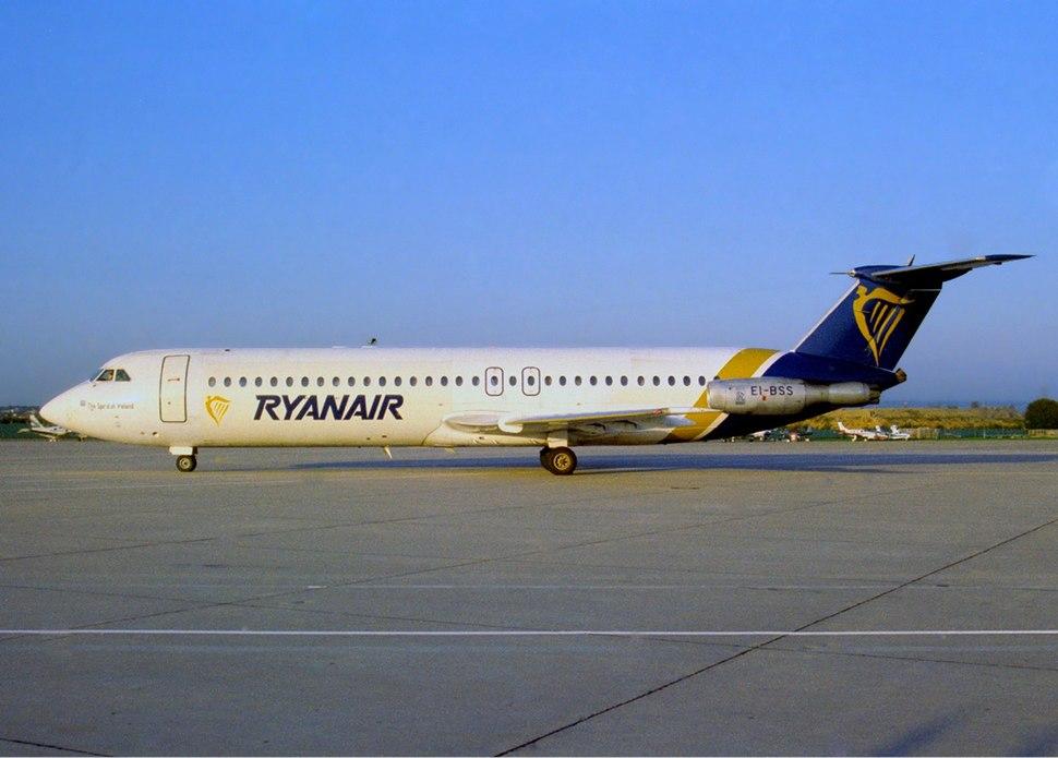 Ryanair Bucuresti Rombac 1-11-561RC One-Eleven JetPix-1