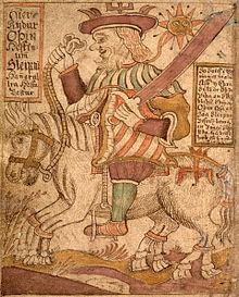 Sleipnir, cheval à 8 jambes dans CHEVAL 220px-S%C3%81M_66%2C_80v%2C_Odin_on_Sleipnir