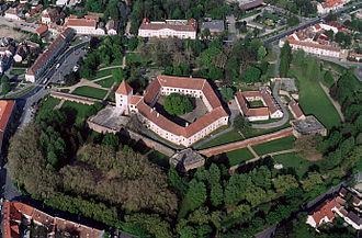 Sárvár - Aerial Photography: Sárvár - Castle