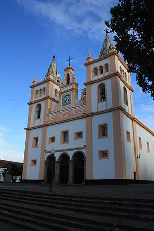 Roman Catholic Diocese of Angra - The cathedral as it appeared at the end of the 20th century