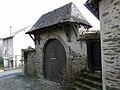 Ségur le Château portail ruelle Coeur de Lion.JPG