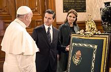 S.S. Papa Francisco- Ceremonia de Bienvenida en Palacio Nacional - 24913867991.jpg