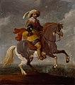 SA 23320-Frederik Hendrik (1584-1647) voor Maastricht-Prins Frederik Hendrik te paard met Maastricht op de achtergrond.jpg