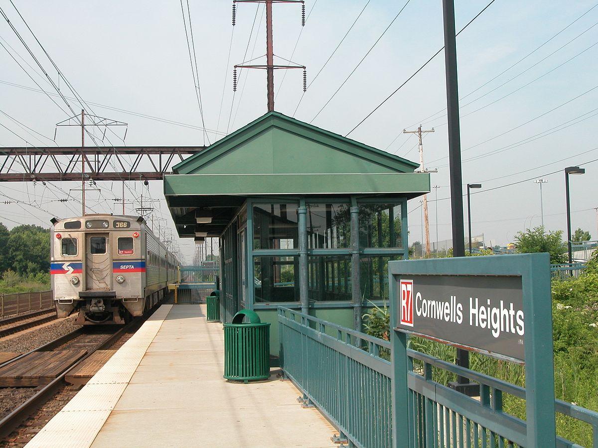 City Line Avenue >> Cornwells Heights station - Wikipedia
