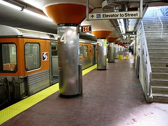 NRG station - Image: SEPTA AT&T (Pattison) station