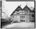 SERVANTS HALL-PORCH, WEST - Stan Hywet Hall, 714 North Portage Path, Akron, Summit County, OH HABS OHIO,77-AKRO,5-136.tif