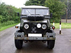 Land Rover 1/2 ton Lightweight - 1970 Series IIa