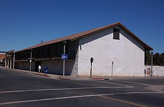 Sonoma Plaza - Image: SONOMA BARRACKS, SONOMA STATE HISTORIC PARK, CALIFORNIA