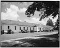 SOUTH FRONT AND WEST CORNER, LOOKING NORTHEAST - Wise Sanatorium No. 2, Hospital Street, Plains, Sumter County, GA HABS GA,131-PLAIN,22-2.tif