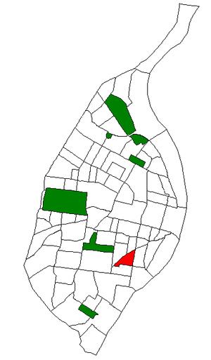 Benton Park West, St. Louis - Image: STL Neighborhood Map 30