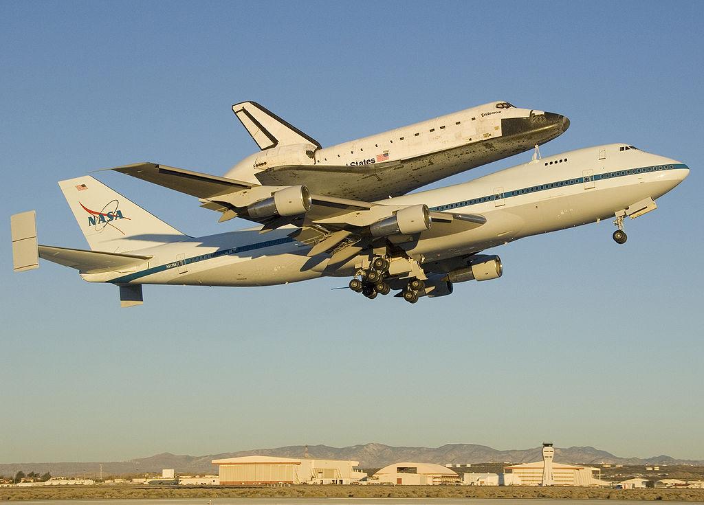 space shuttle endeavour dimensions - photo #1