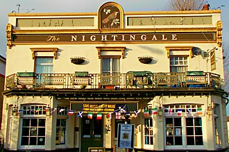 Sutton, London - The Nightingale pub