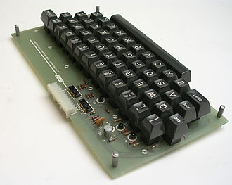 TV Typewriter - Don Lancaster's $40 Keyboard kit produced by SWTPC.
