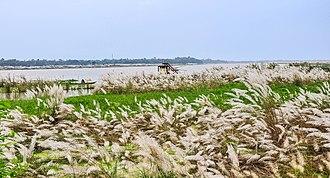 Mayapur - The Ganges river at Mayapur