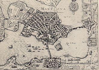 War of the Mantuan Succession - Image: Sacco di mantova nel 1630