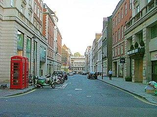 Sackville Street, London