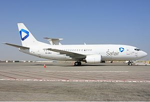 Safair - Safair Boeing 737-300 at Sharjah International Airport