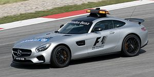 Mercedes-AMG GT - Mercedes-AMG GT S Formula 1 safety car