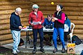 Sage officials juggling their duties (John Rance, Alan & Frances Vyse) - (7265308136).jpg