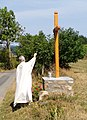 Saint-Just-d'Avray - Bénédiction de la croix d'Avray (août 2017).jpg