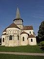 Saint-Outrille (18) Collégiale Saint-Austrégésile 04.JPG