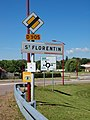 Saint Florentin-FR-89-panneau agglomération-01.jpg
