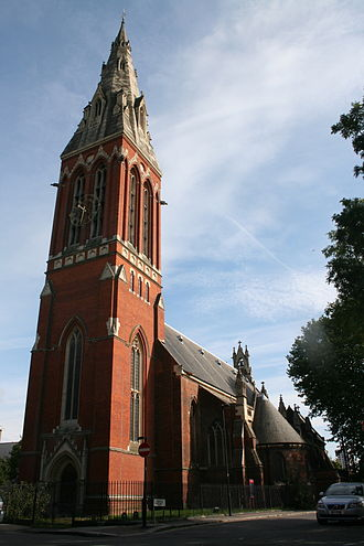 London Borough of Lambeth - St John the Divine on Vassall Road