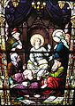 Saint Joseph Catholic Church (Somerset, Ohio) - stained glass, Finding the Child Jesus in the Temple.jpg