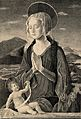 Saint Mary (the Blessed Virgin) with the Christ Child. Engra Wellcome V0033754.jpg