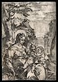 Saint Mary (the Blessed Virgin) with the Christ Child and Sa Wellcome V0033947.jpg