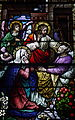 Saint Patrick Church (Columbus, Ohio) - stained glass, the death of St. Joseph.jpg