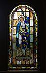 Saint Paul Catholic Church (Westerville, Ohio) - stained glass, arcade, Saint Joan of Arc.jpg