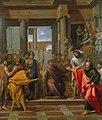 Saint Paul rend aveugle le faux prophète Barjésu (esquisse).jpg