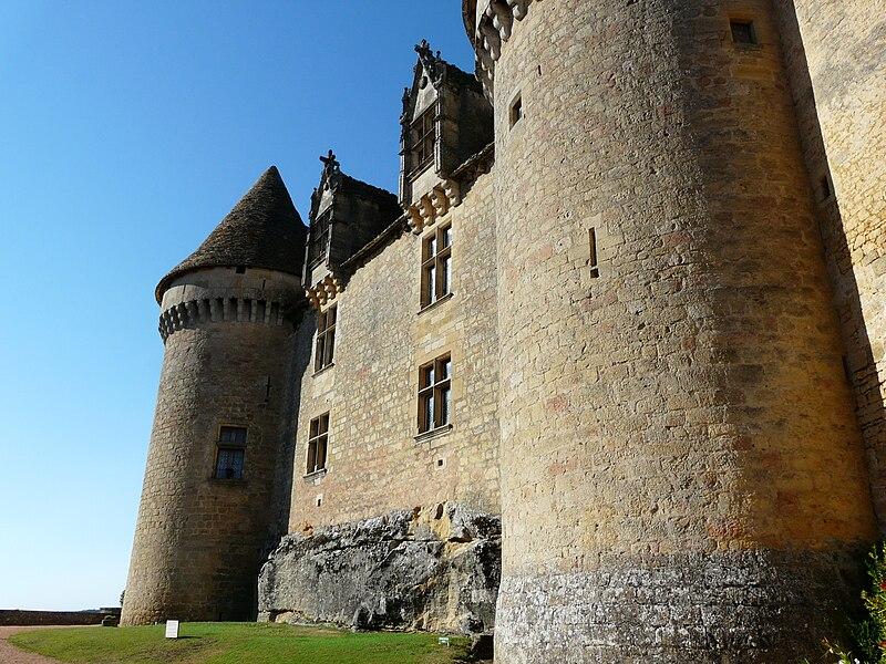 Fichier:Sainte-Mondane château Fénelon façade sud-ouest.JPG