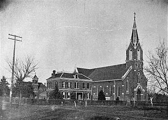 Seneca, Kansas - Saints Peter and Paul Catholic Church (1916)