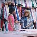 Sakirat Malumi and Jemima Osunde at Bunnie Bees Fabrics 2018 NdaniTV.jpg