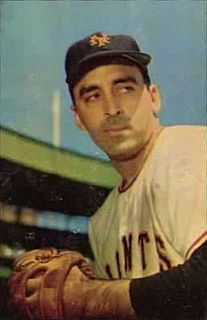 Sal Maglie American baseball player and coach