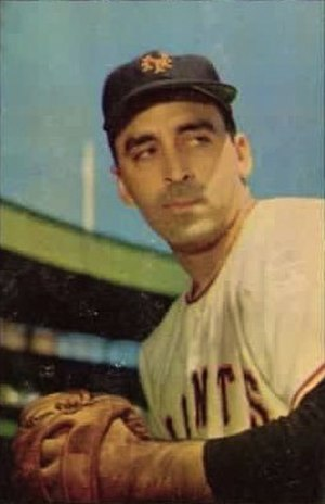 Sal Maglie - Maglie in about 1953.