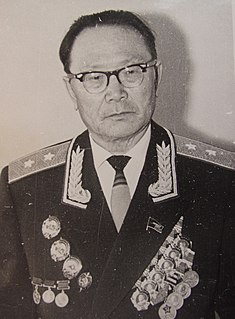 Salchak Toka Tuvan politician