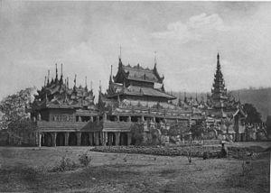 Salin Monastery - Salin Monastery 1903.