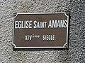 Salmiech église St-Amans plaque.jpg
