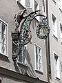 Salzburg Getreidegasse Schild McDonalds.jpg
