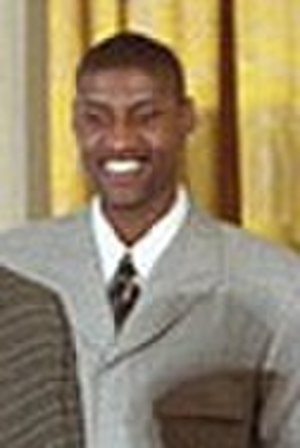 Samaki Walker - Samaki Walker at the White House in 2002.