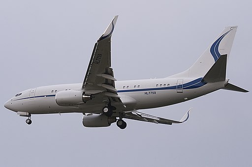 Samsung Boeing BBJ HL7759